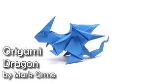 Origami Dragon easy - Yakomoga Origami easy tutorial