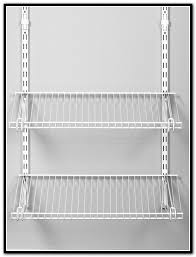 wall mounted wire shelving units