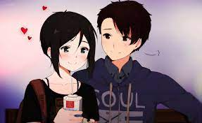 Anime Girl Cute With Boy Wallpapers ...
