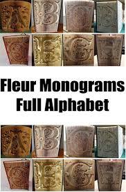 cut and fold monogram a cut and fold monogram b monogram c cut and fold book folding pattern
