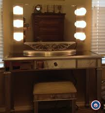 starlet table top lighted vanity mirror awesome hollywood house decorations throughout 17