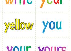 1st Grade Flash Cards 1st Grade Reading Flash Cards Worksheets Free Printables
