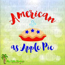 Image result for american as apple pie