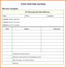 Microsoft Word Agenda Template Meeting Template Word Sample Agenda