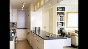 Apartment Galley Kitchen Kitchen Cabinets White Cabinets And Black Countertops Small