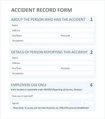 Employee Incident Report Templates Doc Free Premium Technical