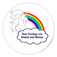 ANgry Unicorn Stickers Zazzle Adorable Upset Feelings Stickers