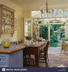 Kitchen Dining Room Simple Wooden Table And Chairs In Country Kitchen Dining Room With