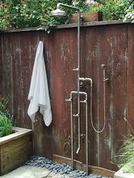 best outdoor shower head rv outdoor shower head replacement