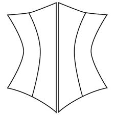 Corset Pattern Cool Custom Corset Pattern Underbust