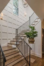 chic staircase wall decoration ideas