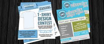 T Shirt Template Extraordinary New TShirt Contest Marketing Flier Templates