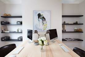 living room home office workspace. 36 Inspirational Home Office Workspaces That Feature 2 Person Desks Living Room Workspace N