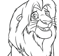baby simba lion king coloring pages get coloring pages
