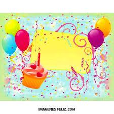 Targetas De Cunpleanos Feliz Cumpleaños Para Imprimir