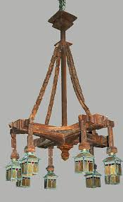 10 best craftsman mission style chandelier images on for decor 11 arts and crafts