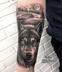 тату волк тату волк реализм тату волк на руке