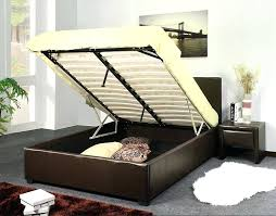 Platform Bed With Storage Underneath Full Size Of And Storage King ...