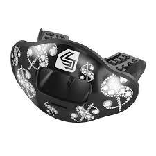 Football Mouth Guard Design Chrome Money Max Airflow Football Mouthguard