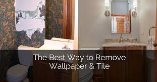 the best way to remove wallpaper tile home remodeling contractors sebring design build