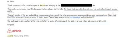 Sample Response To Rejection Letter Seloyogawithjoco Gorgeous Resume Rejection Email