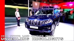 2018 toyota landcruiser sahara. 2018 Toyota Land Cruiser Prado Unveiling Highlights Landcruiser Sahara