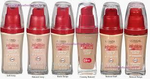 foundation review loreal infallible advances never fail makeup first impression christinegxoxo you never fail makeup choose color apesar