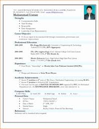 Mechanical Resume Samples Pdf Create Mechanical Engineering Resume Format For Experienced Pdf 4