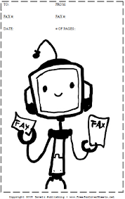Cartoon 30 Fax Cover Sheet At Freefaxcoversheets Net