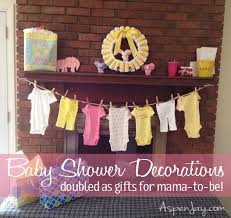 Yellow & Pink Baby Shower w/ Printable Games - Aspen Jay