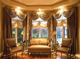 Living Room Bay Window Curtains For Bay Windows In Living Room Cute Angled Curtain Rod