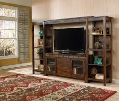 family game room family room rustic. Rustic Entertainment Center For Your Family Room Design: Brown Wood Storage Game C