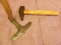 viking adze. mastermyr adze and hammer (daegrad tools) tags: gotland sweden daegrad viking g