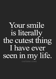 I Love Your Smile Quotes Amazing Top 48 Cute Crush Quotes Love Quotes Pinterest Crushes