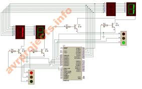 traffic light wiring schematic traffic image 4 way traffic light project circuit diagram images way traffic on traffic light wiring schematic