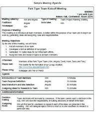 Agenda Format Sample Min Meeting Agenda Template Creating A Examples Sample