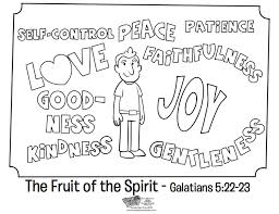 Small Picture The Fruit of the Spirit Coloring Page Whats in the Bible