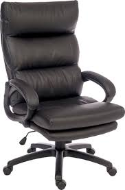 luxury leather office chair. luxe luxury leather look executive office chair v