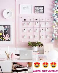 pink home office design idea. Contemporary Office I LOVE This Pink Home Office Decorating Idea Such A Feminine Work Space  But Functional Too Could Get LOT Of Done In Room Inside Design Idea