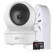 Camera Ezviz C6N (CV246 1080P) + Tặng thẻ nhớ Hikvision 64GB và chân đế -  Hàng Chính Hãng