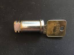 Medeco Vending Machine Locks Fascinating MEDECO HIGH SECURITY Rim Cylinder 4848 Original Original Brass