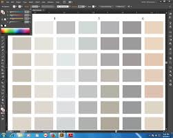 Adobe Cmyk Color Chart Illustrator I Need The Cmyk Values Of Hundreds Of Colors