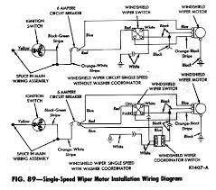 falcon diagrams 1963 single speed windshield wiper diagram