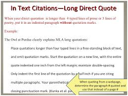How To Quote In Mla Inspiration Mla Block Quote Format Friendsforphelps