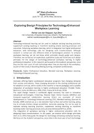 Exploring Design Technology Engineering Answer Key Pdf Exploring Design Principles For Technology Enhanced
