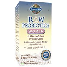 com garden of life raw probiotics women acidophilus live cultures probiotic created vitamins minerals enzymes and prebiotics gluten free
