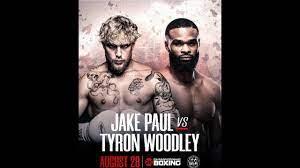 Jake Paul vs Tyron Woodley Pre-Fight ...