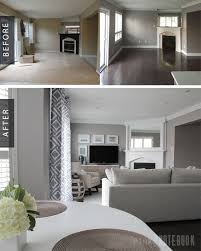 Family Room Living Room Cool Family Room Gets A Cozy Makeover Before After Pink Little