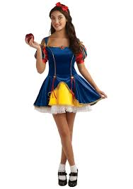 Teen snow white halloween costumes