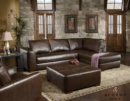 brown sectional sofas.  Sofas Kaira Brown Bonded Leather Sectional Sofa On Sofas W